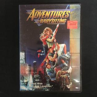 DVD - Adventures in Babysitting