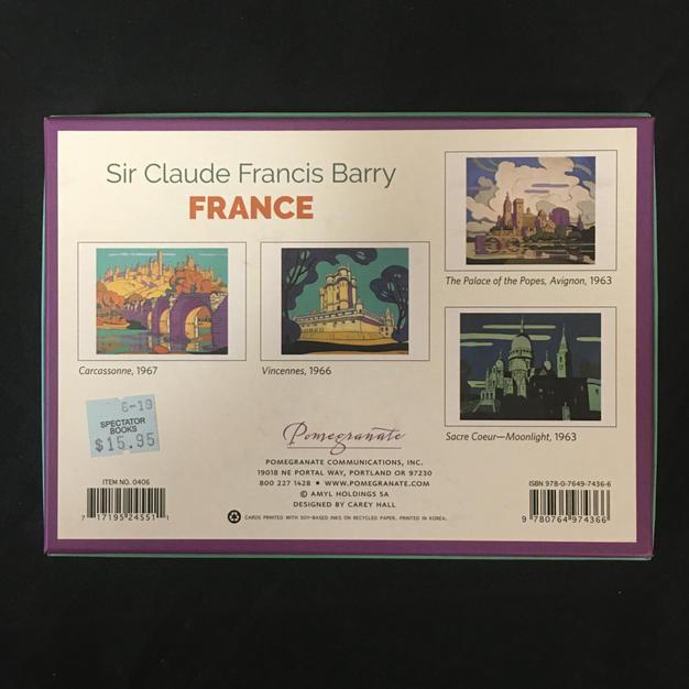 France - Sir Claude Francis Barry (back)