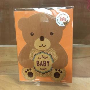 Cutest Bear Baby - Night Owl Paper Goods