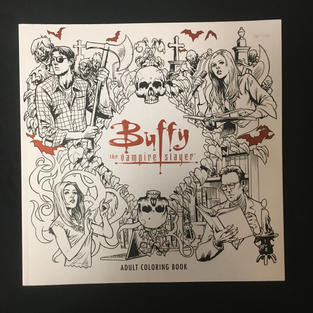 Buffy Coloring Book