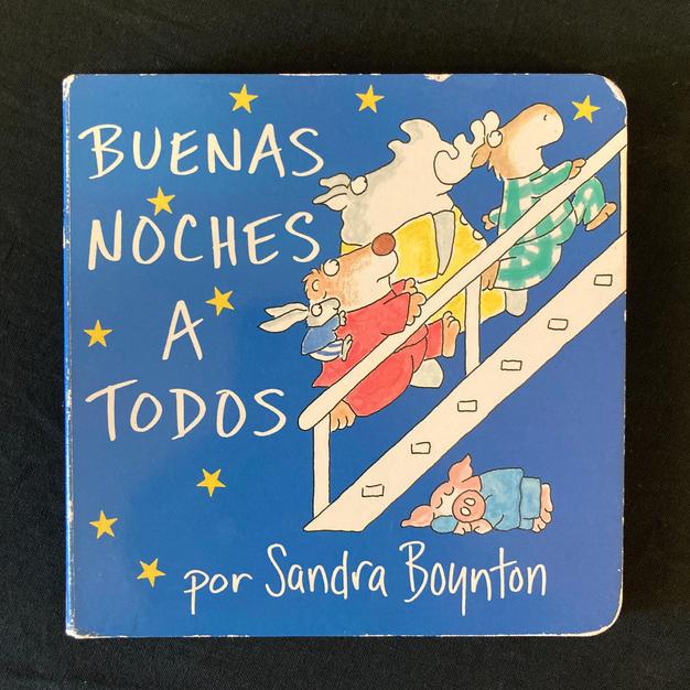Buenas Noches a Todos por Sandra Boynton