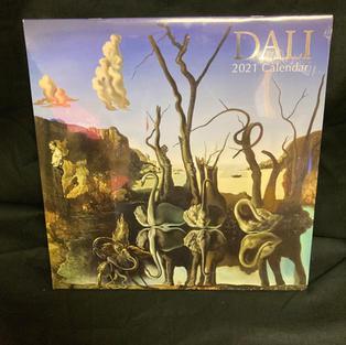 2021 Wall Calendar - Dali
