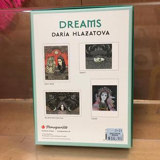 Dreams - Daria Hlazatova (front)