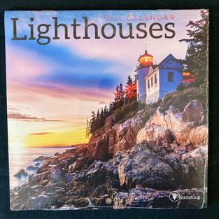 2021 Mini Calendar - Lighthouses