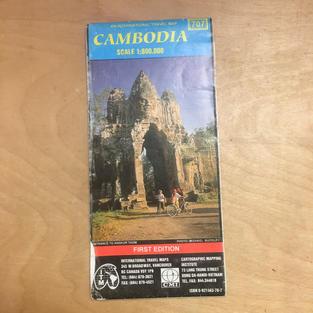 Map - Cambodia 707