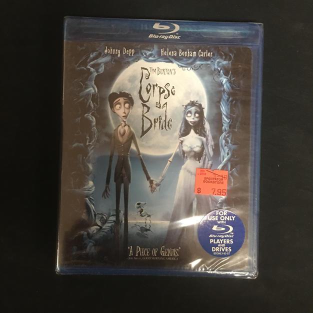 Blu-ray - Corpse Bride