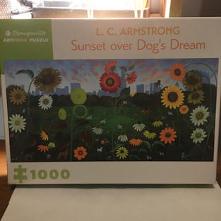 Sunset Over Dog's Dream - L.C. Armstrong