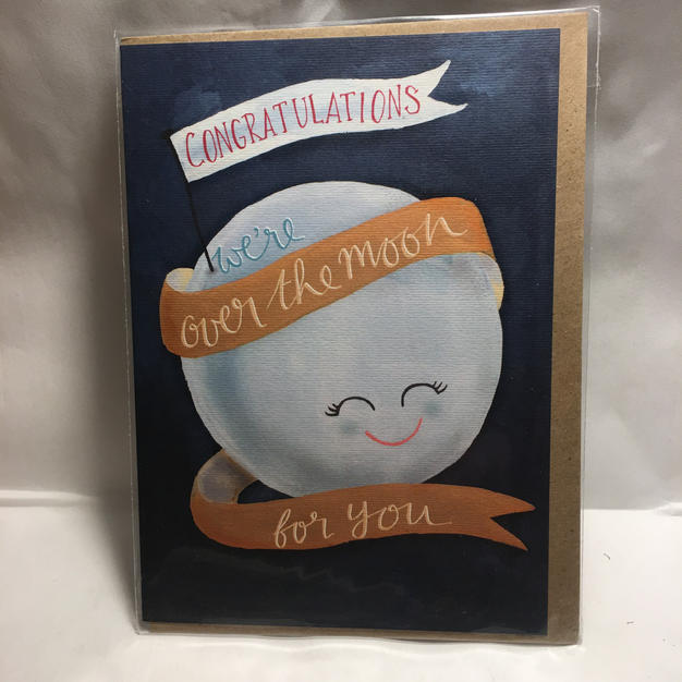 Over the Moon Congratulations - Notes & Queries