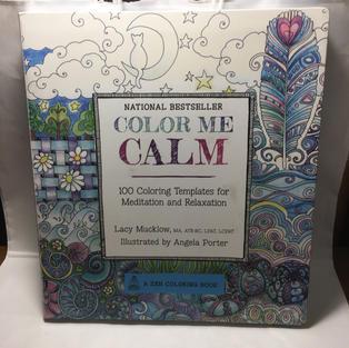 Color Me Calm Coloring Book