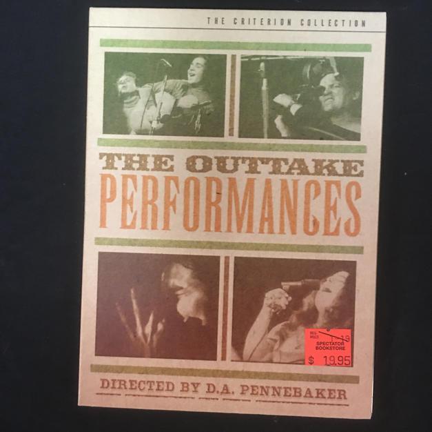 DVD - Monterey Pop Outtake Performances - Criterion