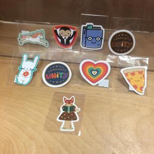 Vinyl Stickers - Various - Night Owl Paper Goods