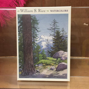 Watercolors - William S Rice (front)