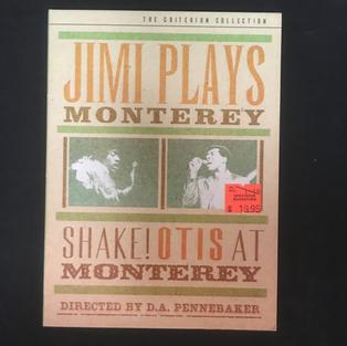 DVD - Jimi Plays Monterey / Shake! Otis at Monterey - Criterion