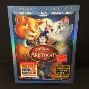 DVD / Blu-ray Combo - The Aristocats