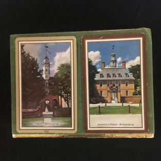 Williamsburg Double Playing Card Deck