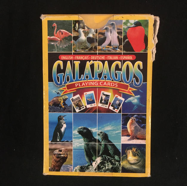 Galapagos Playing Cards