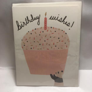 Panda Cupcake Birthday - Red Cap Cards