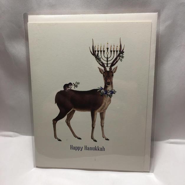Menorah Deer - P Flynn Design