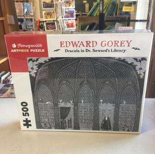 Dracula in Dr Steward's Library, Edward Gorey