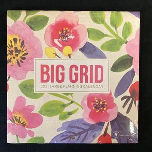 2021 Big Grid - Large Planning Calendar