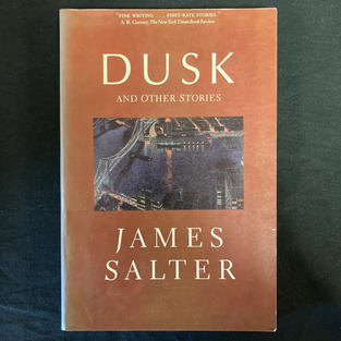 Dusk by James Salter