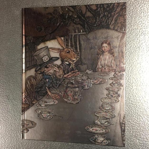 Alice Mad Hatter - Flame Tree Sketchbook