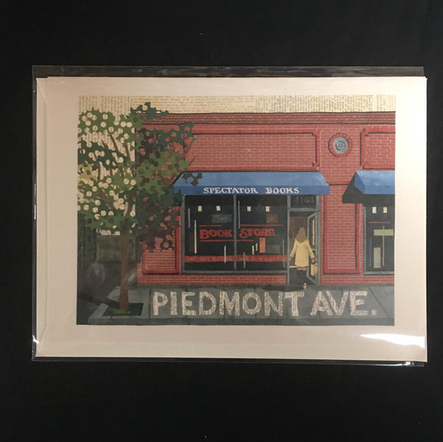 Spectator Piedmont Ave Oakland Card - Nancy Overton