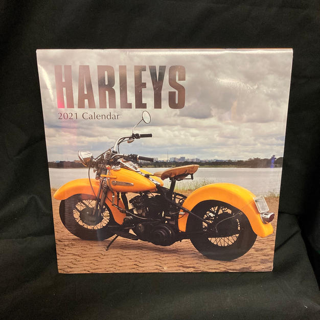 2021 Wall Calendar - Harleys