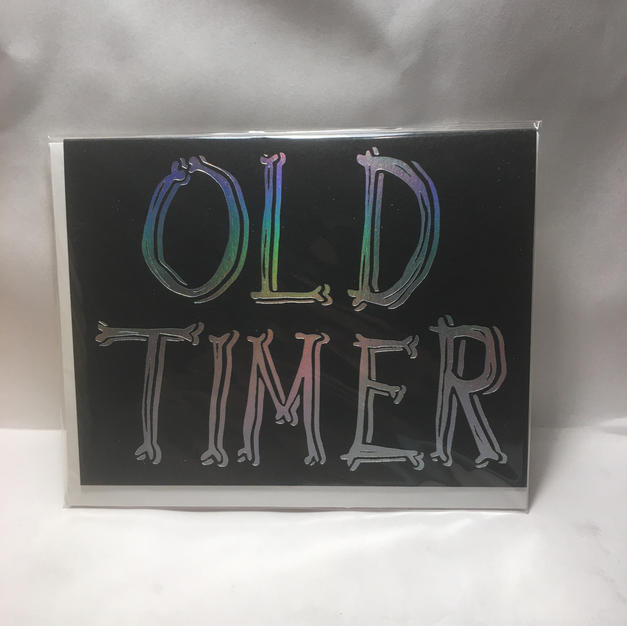 Old Timer Birthday - Wrap