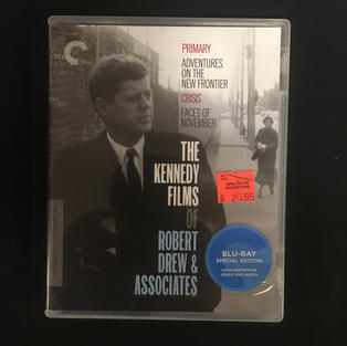 Blu-ray - The Kennedy Films of Robert Drew & Associates - Criterion