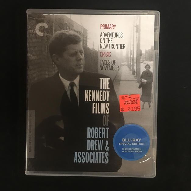 Blu-ray - The Kennedy Films of Robert Drew & Associates - Criterion
