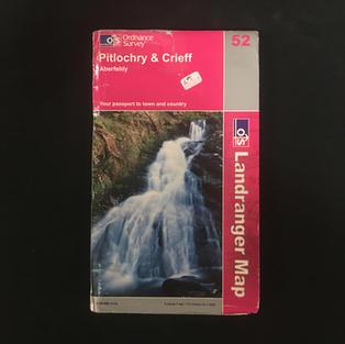 Map - Pitlochry & Crieff