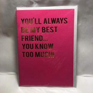 Best Friend Pink - Notes & Queries