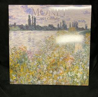 2021 Wall Calendar - Monet