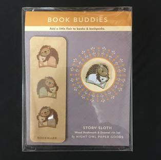 Book Buddies - Reader Sloth