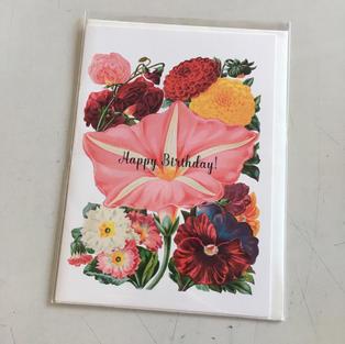 Pink Flower Birthday - P Flynn