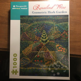 Geometric Herb Garden - Rosalind Wise