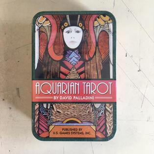 Aquarian Tarot Deck (in tin)