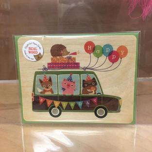 Station Wagon Birthday - Night Owl Paper Goods