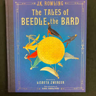 The Tales of Beedle the Bard (Illustrated) by J K Rowling