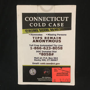 Connecticut Cold Case Playing Cards