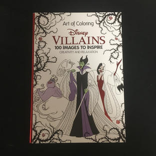 Disney Villains Coloring Book