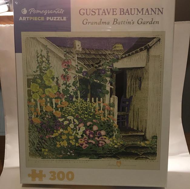 Grandma Battin's Garden - Gustave Baumann