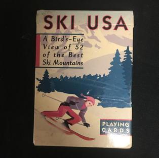 Ski USA Playing Cards