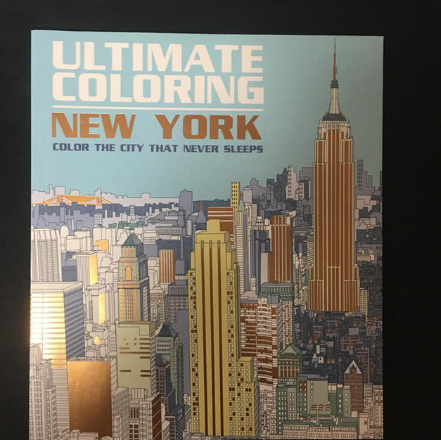 New York Ultimate Coloring Book