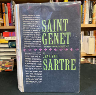 Saint Genet by Jean-Paul Sartre