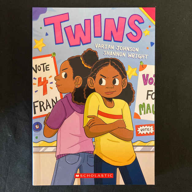 Twins by Varian Johnson and Shannon Wright
