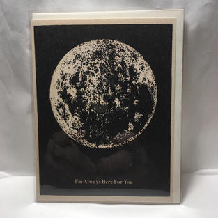 Here for You Moon Sympathy / Get Well - Red Cap Cards