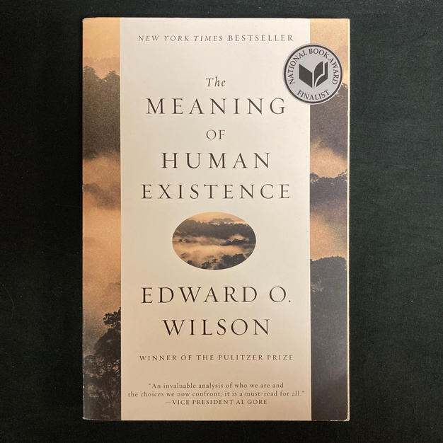 The Meaning of Human Existence by Edward O WIlson