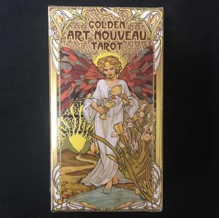 Golden Art Nouveau Tarot Deck